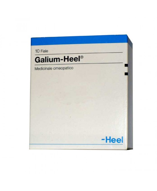 HEEL GALIUM 10 FIALE DA 1,1 ML L'UNA - Farmaunclick.it