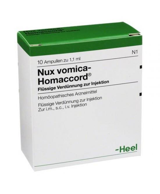 NUX VOMICA HOMAC 10F HEEL prezzi bassi