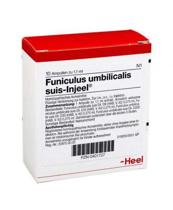 HEEL FUNICULUS UMBILICALIS SUIS 10 FIALE - Farmaciapacini.it