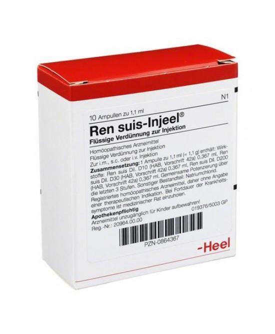 Heel Ren Suis-Injeel 10 Fiale Da 1,1ml - Farmacistaclick