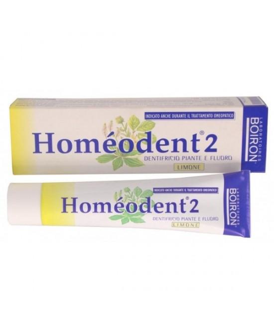 Borion Homeodent 2 Dentifricio Limone 75ml - Farmaciaempatica.it