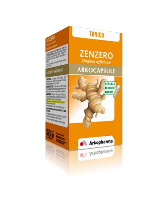 Arkopharma Zenzero Arkocapsule Integratore Alimentare 45 Capsule prezzi bassi
