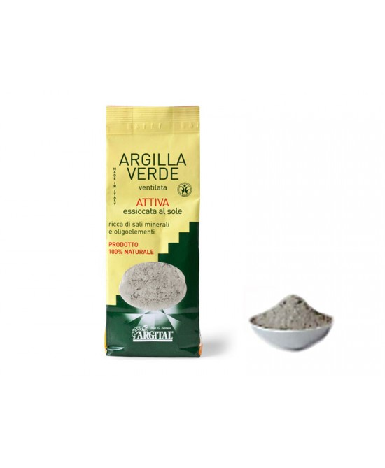 Argilla Verde Ventilata Attiva 500g - Sempredisponibile.it