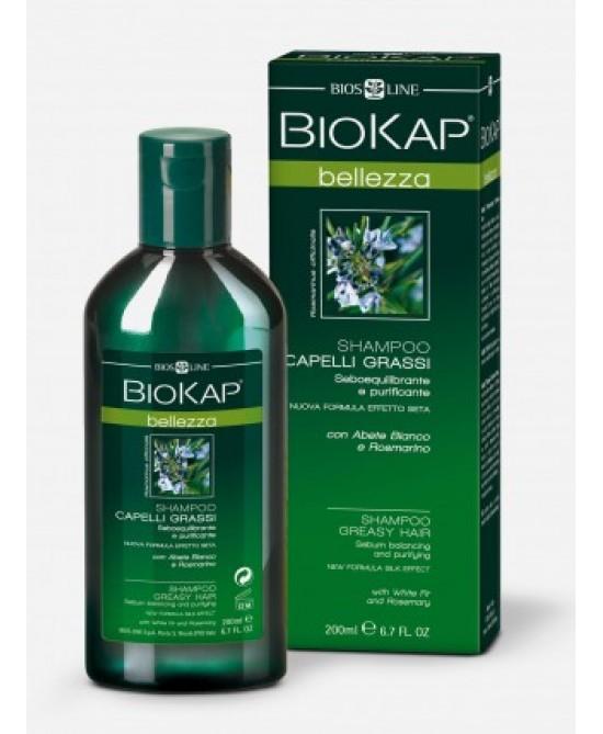 Bios Line BioKap Shampoo Capelli Grassi 200ml - Farmaciaempatica.it
