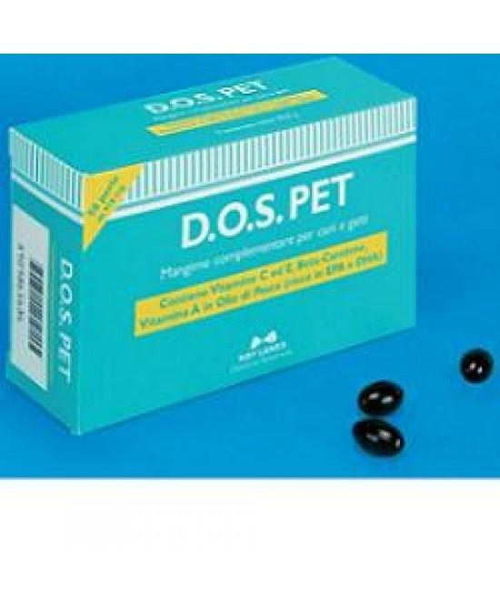 Nbf Lanes Dos Pet Mangime Vitaminico Per La VIsta Cani E Gatti 50 Perle
