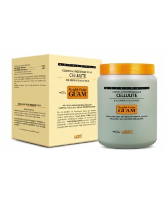 Guam Fanghi D'alga Classici Anti-Cellulite Vaso da 1000 g  - latuafarmaciaonline.it