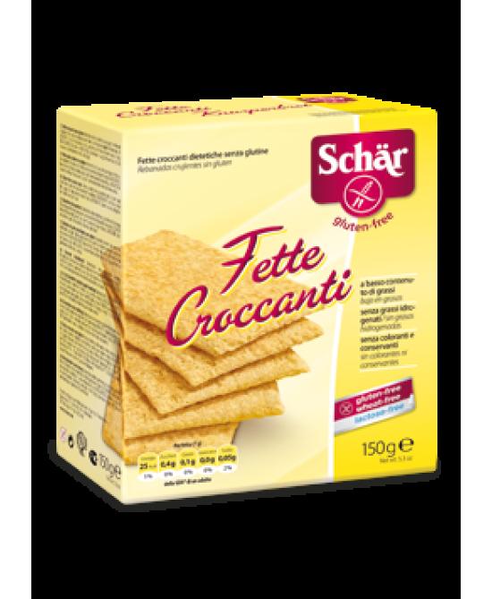 Schar Fette Croccanti Senza Glutine 150g - Farmawing
