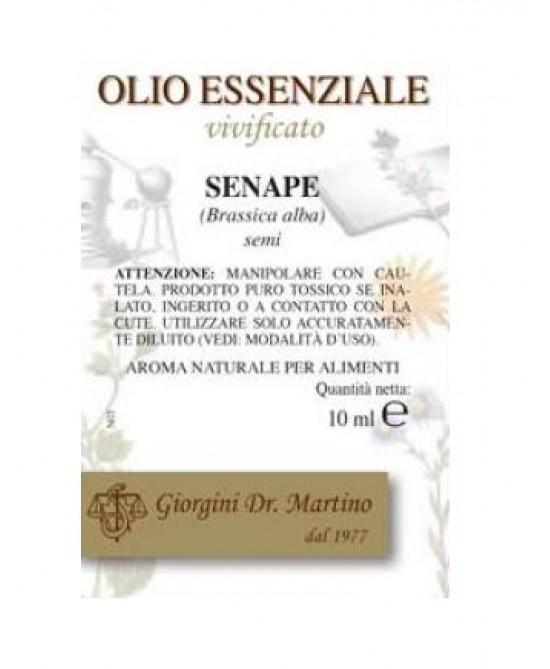 Senape Olio Ess 10ml - Farmapc.it