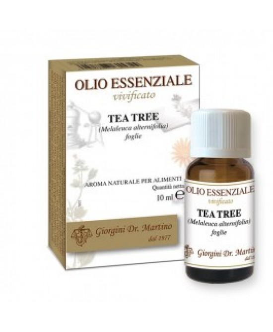 Dr. Giorgini Tea Tree Oil Olio Essenziale 10ml - Farmafamily.it