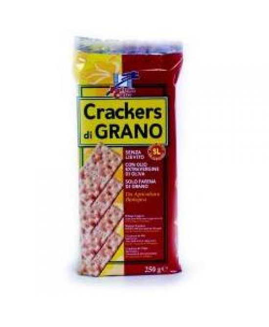 Crackers Grano S/liev Bio 250g