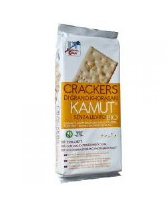 Crackers Kamut S/liev 290g -