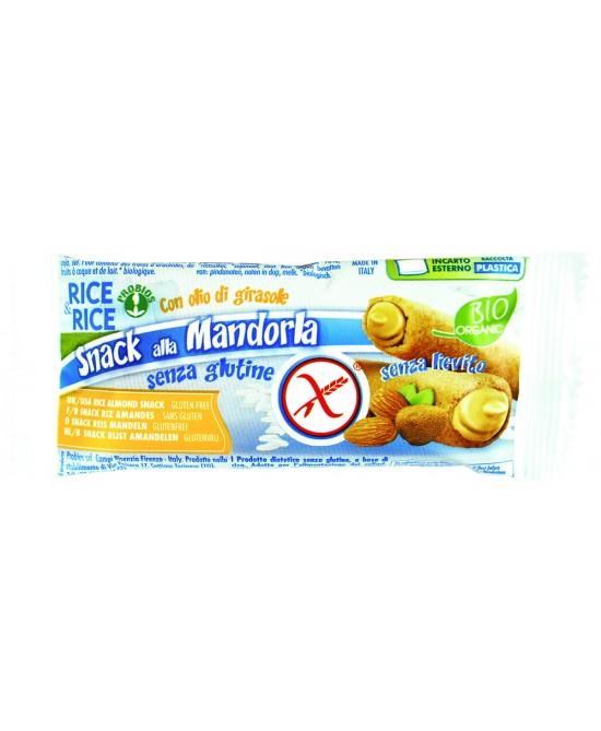 Rice&Rice Snack Di Riso Alla Mandorla Bio Senza Glutine  25g - farma-store.it