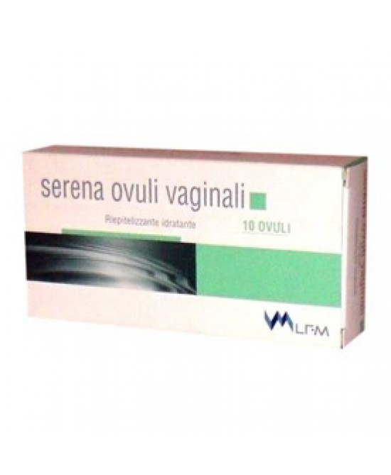 Serena Ovuli 10 Ovuli 20g - Farmia.it