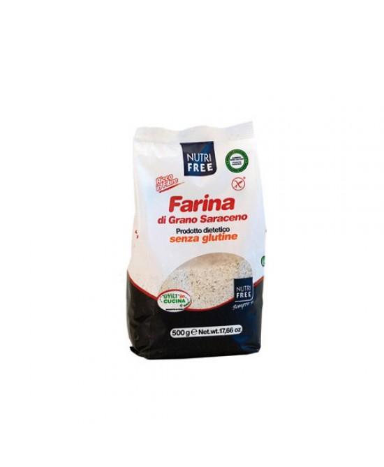 NutriFree Farina Di Grano Saraceno Senza Glutine 500g - FARMAPRIME