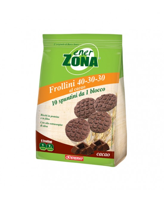 EnerZona Enervit Frollini 40-30-30 Cacao 250g - Zfarmacia