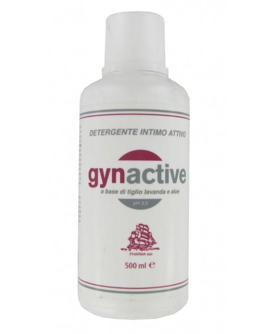 Pharma Gynactive Detergente Intimo Al Tiglio Lavanda Aloe 500ml