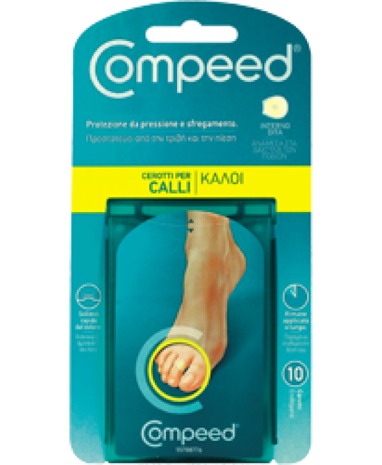 COMPEED CALLI CEROTTI INTERNO DITA 10 PEZZI - Farmastar.it