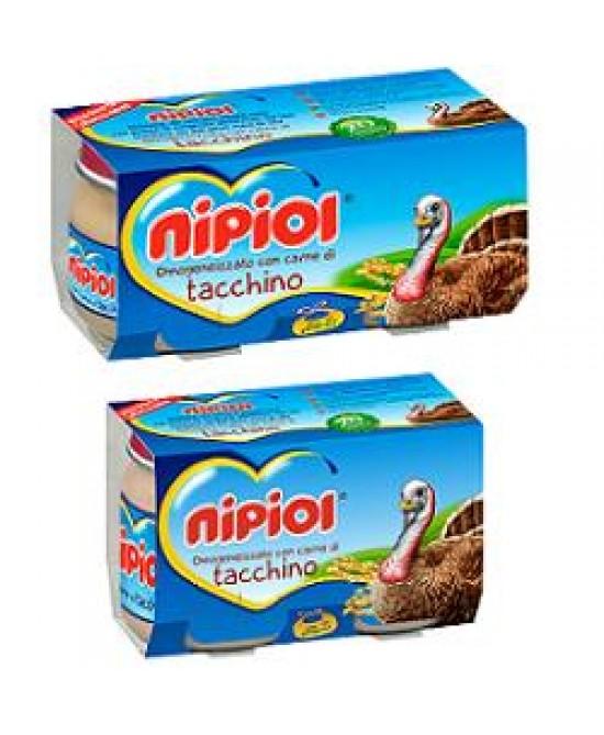 Nipiol Omog Tacchino 80g 2pz