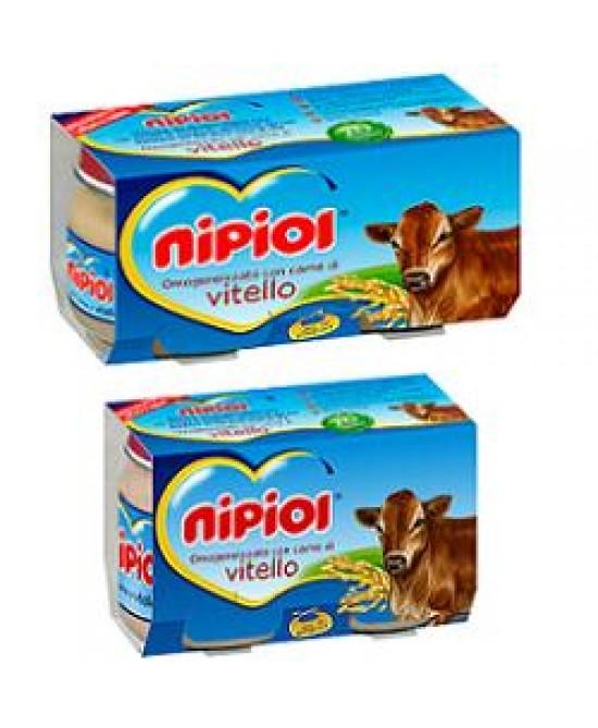 Nipiol Omog Vitello 120g 2pz - La farmacia digitale