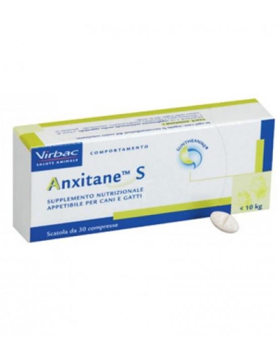 Virbac Anxitane S Supplemento Nutrizionale 30 Compresse - Farmajoy