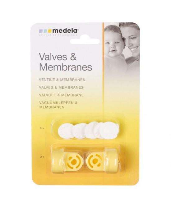 Medela Valvole E Membrane - Farmajoy