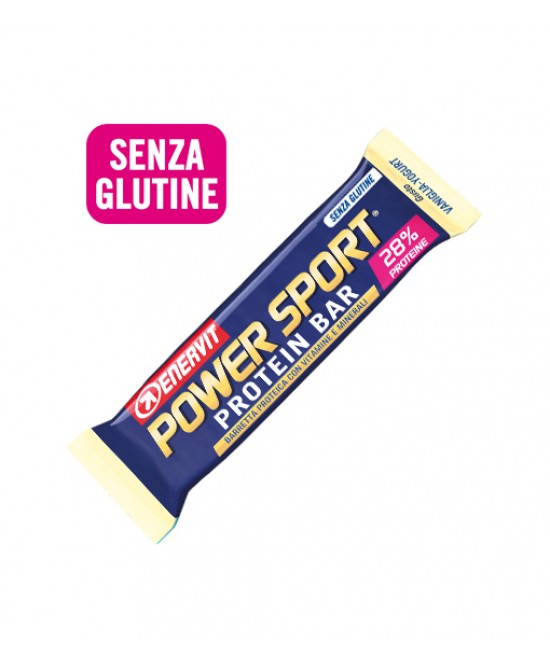Enervit Power Sport Protein Bar Vaniglia-Yogurt Barretta Proteica 40g - FarmaHub.it