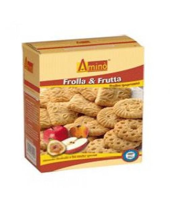 Aminò Frolla&Frutta Frollini Aproteici 200 g