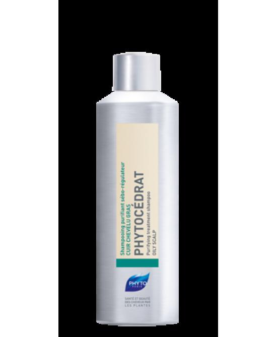 Phyto Phytocédrat Shampoo Purificante Sebo-Regolatore 200ml - Farmaciaempatica.it