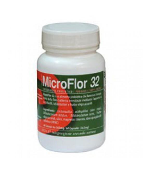 Microflor 32 60cps Vegetali - FARMAEMPORIO