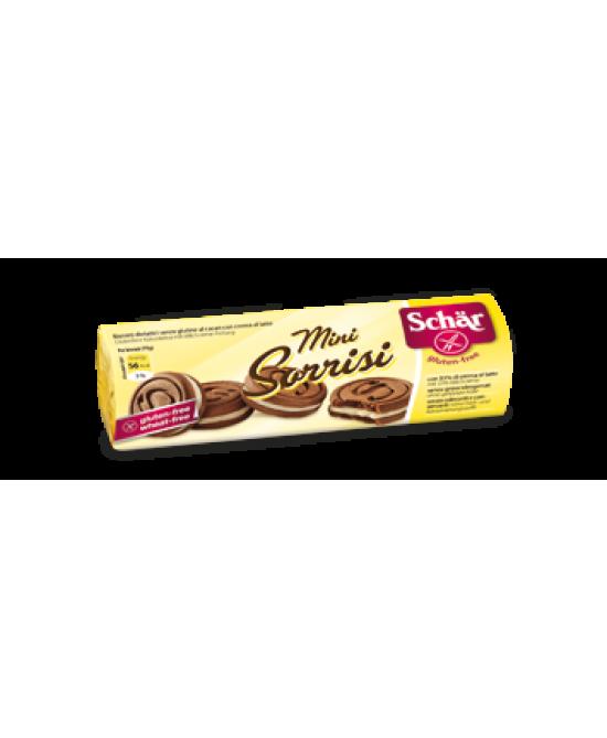 Schar Mini Sorrisi Biscotti Al Cacao Senza Glutine 100g - Farmawing