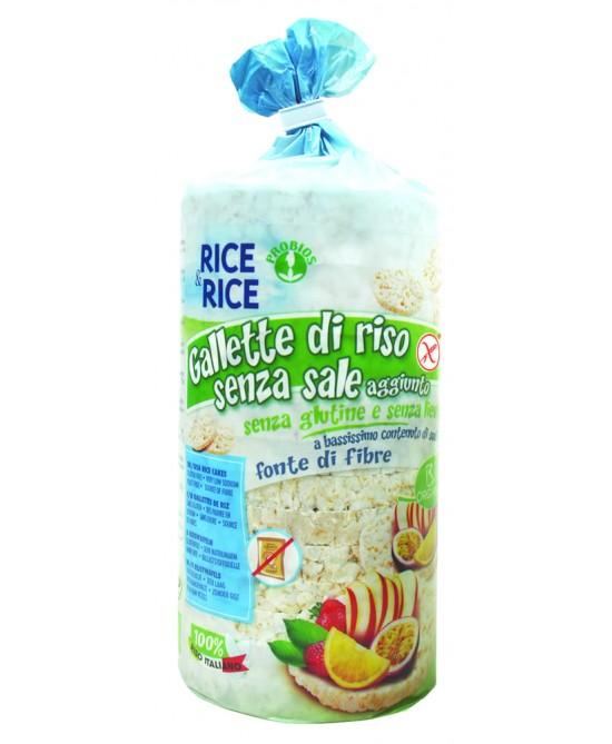 Rice&Rice Gallette Di Riso Senza Sale Biologico Senza Glutine 100 g