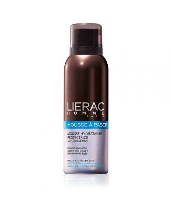 LIERAC HOMME MOUSSE RASATURA 150 ML - Farmastar.it