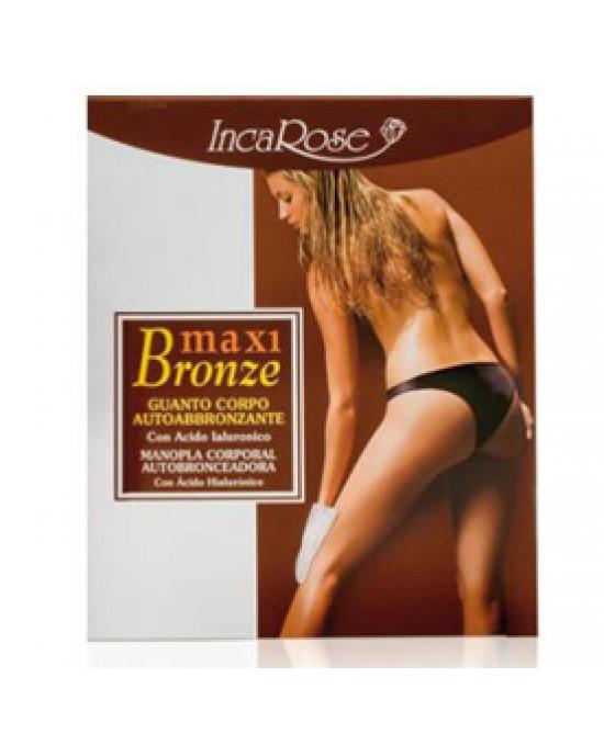 Incarose Maxi Bronze Guanto Autoabbrozante