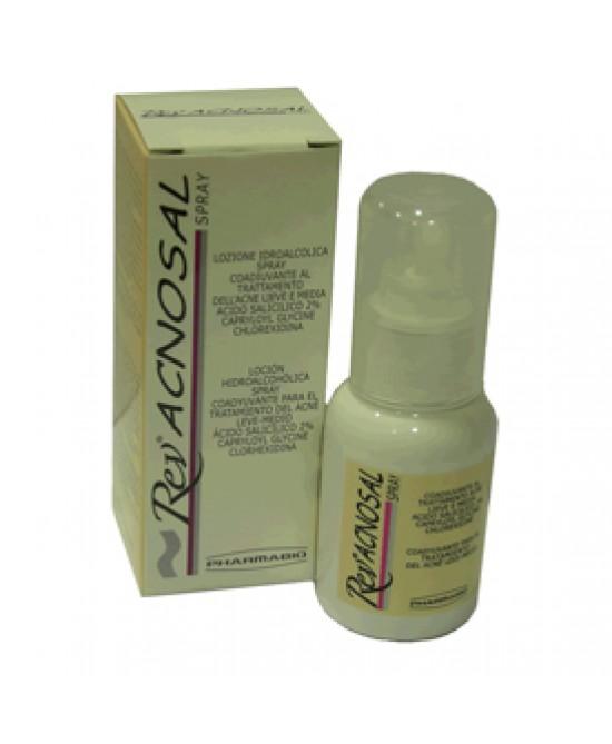 Rev Acnosal Spray per Trattamento Acne 125 Ml
