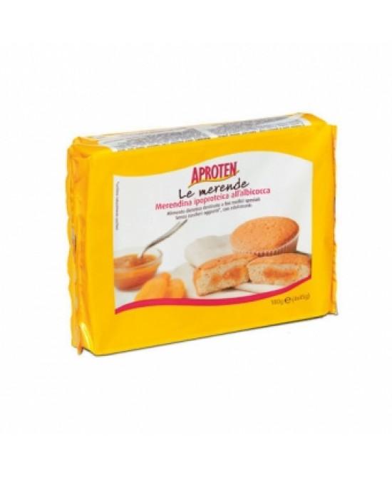 Aproten Merendina All'Albicocca Ipoproteica Senza Zucchero 180g - Farmafamily.it