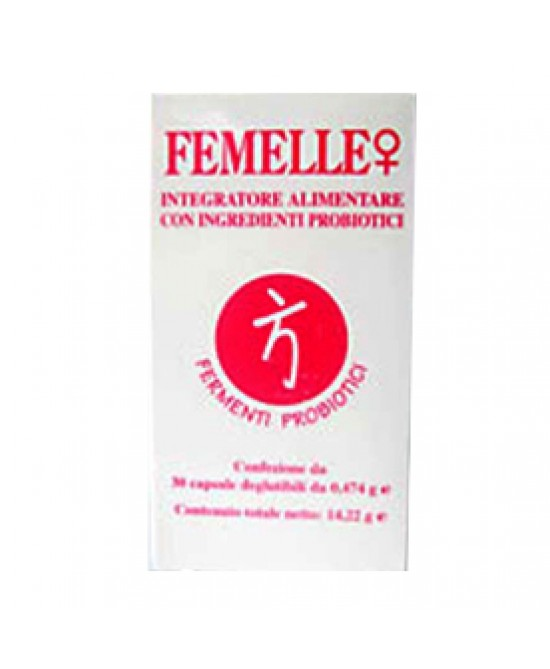 Femelle Integrat Diet 30cps - Farmaciaempatica.it