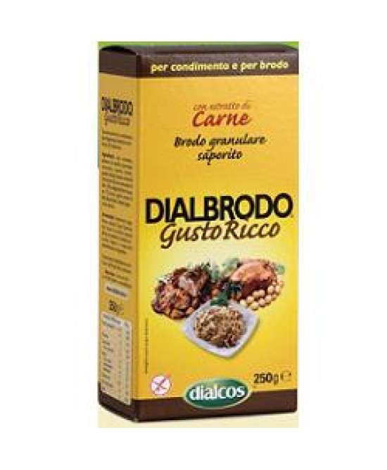 Dialbrodo Gusto Ricco 250g - Farmafamily.it