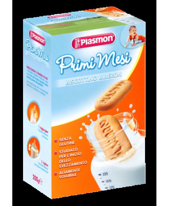 Plasmon Biscotto Biberon Senza Glutine 200g - Farmafamily.it