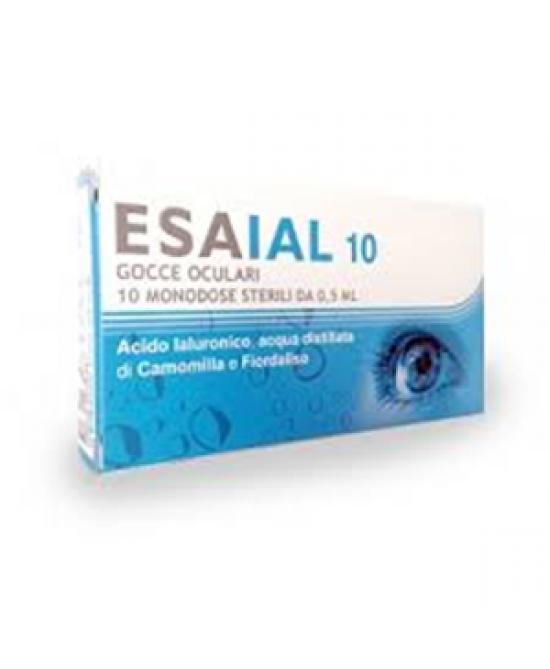 ESAIAL 30 GOCCE OCULARI 30 FIALE MONODOSE 0,5 ML - Farmaciacarpediem.it