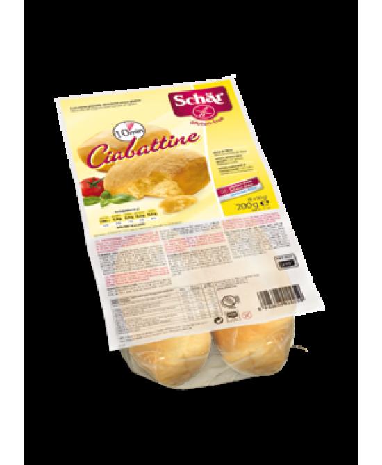 Schar Ciabattine Precotte Dietetiche Senza Glutine 200g - Farmaciasconti.it