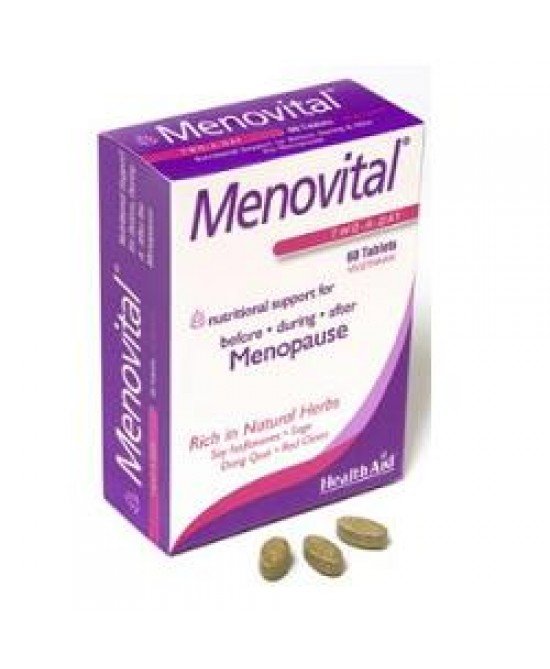 Menovital Integratore Menopausa 60 Compresse