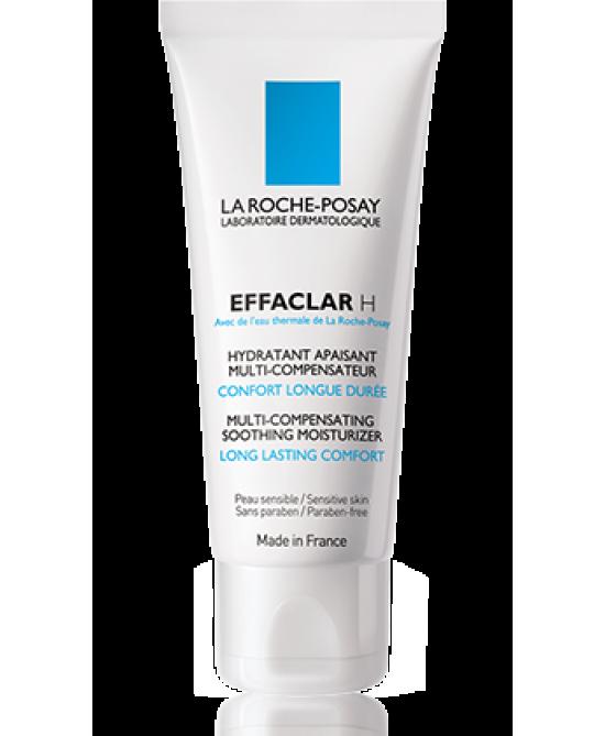La Roche-Posay Effaclar H Trattamento Idratante Lenitivo Compensatore 40ml - Farmastar.it