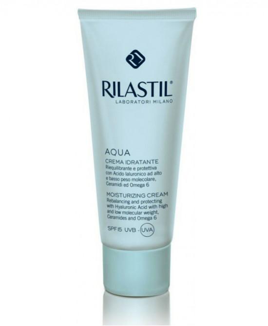 Rilastil Aqua Crema Idratante SPF15 50ml - FARMAEMPORIO