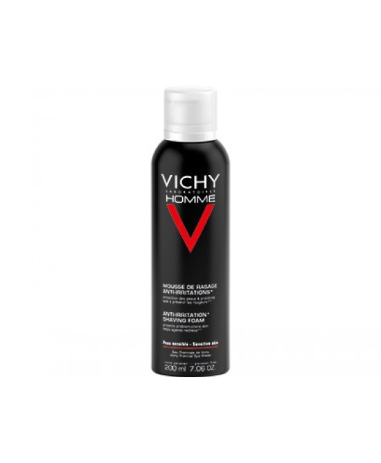 Vichy Homme Mousse Da Barba Anti-Irritazione - Farmapage.it