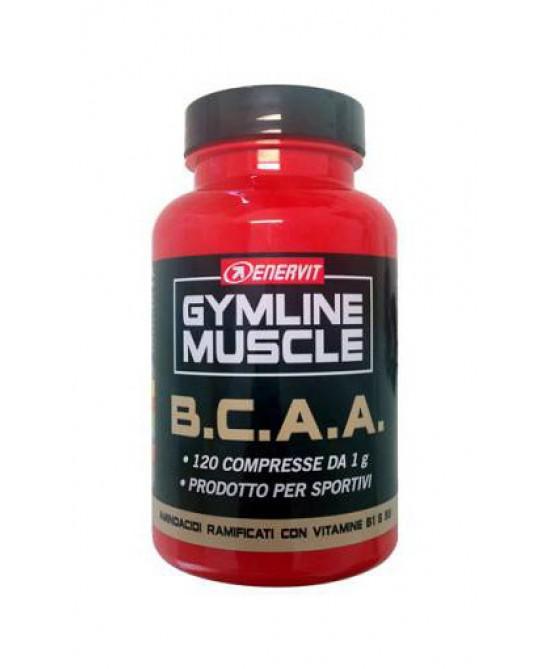 Enervit Gymline Muscle B.C.A.A. Integratore Alimentare 120 Compresse prezzi bassi