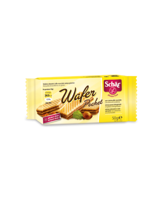 Schar Wafer Pocket Alle Nocciole Senza Glutine 50g - Farmapc.it