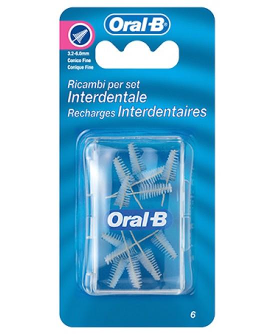 Oral-B Ricambi Per Set Interdentale Medio 3,2mm - Farmacia Giotti