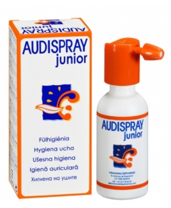 Audispray Junior Igiene dell'orecchio 25ml - Zfarmacia