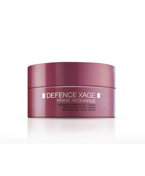 BioNike Defence Xage Prime Recharge Crema Viso Ridensificante Notte 50ml - Farmastar.it