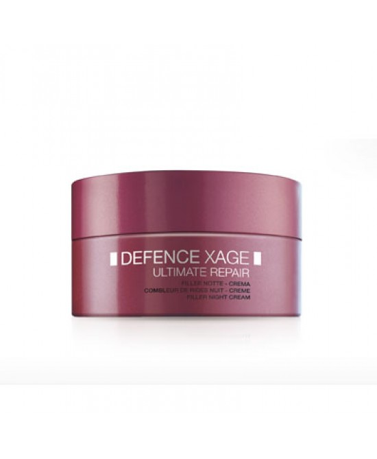 BioNike Defence Xage Ultimate Repair Crema Viso Filler Notte 50ml - Farmastar.it